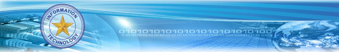 Information Technology Banner