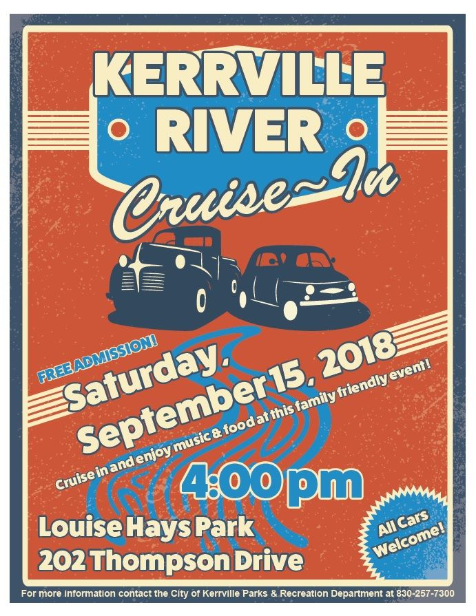 Kerrville River Cruise-In
