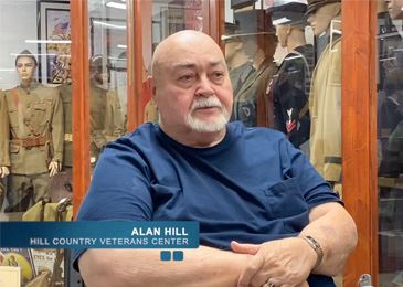 Alan Hill of the Hill Country Veterans Center