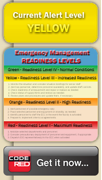 Emergency Readiness Level - Yellow