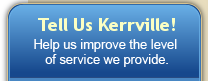 Help us improve the level of service we provide